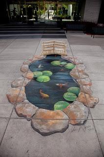 McCann sidewalk pastel painting at MIA
