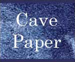 Cave paper is handmade locally in Minneapolis