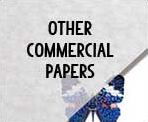 Other commercial papers include canson vidalon, glassine, lennox, strathmore drawing, terraskin and yupo