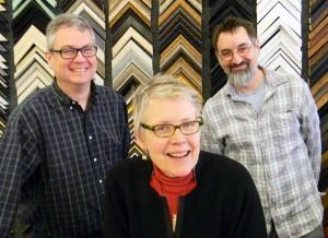 Pictured: Scott Fares, Beth Bergman, and Darin Rinne