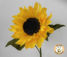 Crepe Paper Flowers Sunflower Workshop Taught By Anna Gaseitsiwe