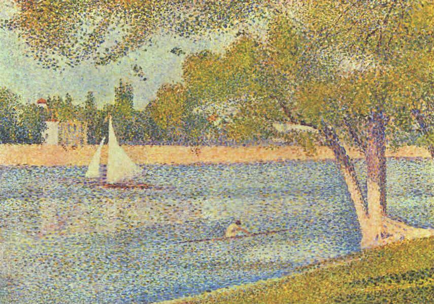 Pointillism: Style of Georges Seurat taught by Jana Komaritsa - Wet Paint